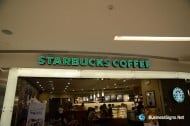 LED Front-lit Acrylic Signs With Green Vinyl On Face For Starbucks