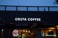 LED Front-lit Acrylic Signs For Costa Coffee