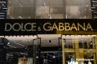 3D LED Backlit Signs With Mirror Polished Stainless Steel Letter Shell & 20mm Thickness Acrylic Back Panel For Dolce & Gabbana