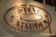 2D Laser Cutting Copper Signs For Steve Madden