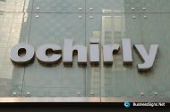 3D LED Front-lit Signs With Mirror Polished Stainless Steel Letter Shell For Ochirly