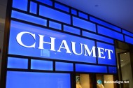 3D LED Front-lit Signs With Painted Stainless Steel Letter Shell For Chaumet