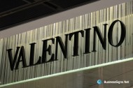 3D Painted Stainless Steel Signs For Valentino