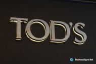 3D LED Backlit Signs With Mirror Polished Stainless Steel Letter Shell & 10mm Thickness Acrylic Back Panel For Tod's