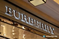 3D LED Backlit Signs With Mirror Polished Stainless Steel Letter Shell & 20mm Thickness Acrylic Back Panel For Burberry