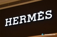 3D LED Front-lit Signs With Painted Stainless Steel Letter Shell For Hermès