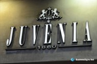 3D LED Front-lit Signs With Painted Stainless Steel Letter Shell For Juvenia