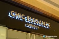 3D LED Backlit Signs With Mirror Polished Stainless Steel Letter Shell For Chic Elegance