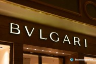 3D LED Front-lit Signs With Painted Stainless Steel Letter Shell For Bulgari