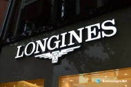 3D LED Front-lit Signs With Mirror Polished Stainless Steel For Longines