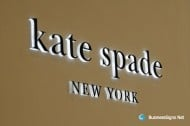 3D LED Side-lit Signs With Black Acrylic Front-panel For Kate Spade