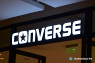 3D LED Front-lit Signs With Painted Stainless Steel Letter Shell For Converse