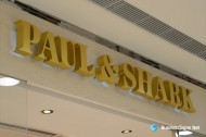 3D LED Back-lit Signs With Painted Stainless Steel Letter Shell For Paul & Shark
