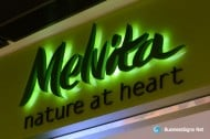 3D LED Back-lit Signs With Painted Stainless Steel Letter Shell For Melvita