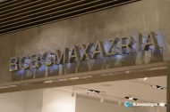 3D LED Backlit Signs With Mirror Polished Stainless Steel Letter Shell For BCBG Max Azriahed