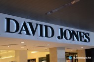 3D LED Backlit Signs With Painted Stainless Steel Letter Shell For David Jones