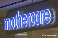 3D LED Double-sided-lit Signs With Mirror Polished Stainless Steel Letter Shell For Mothercare