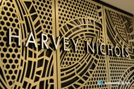 3D LED Front-lit Signs With Painted Stainless Steel Letter Shell For Harvey Nichols
