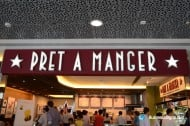 3D LED Front-lit Signs With Mirror Polished Stainless Steel Letter Shell For Pret A Manger