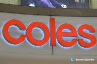 3D LED Double-sided-lit Signs With Painted Stainless Steel Letter Shell For Coles