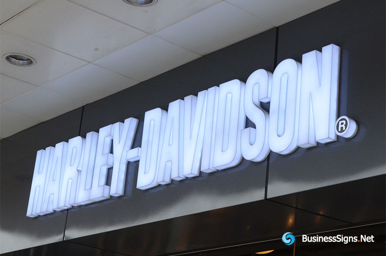 3D LED Whole-lit Signs For Harley-Davidson