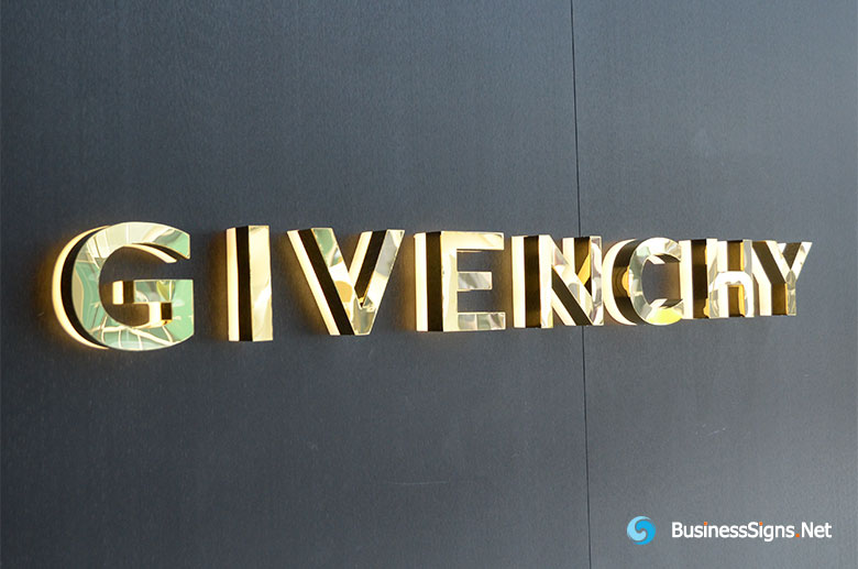3d-led-backlit-lit-signs-with-mirror-polished-gold-plated-letter-shell-and-20mm-thickness-acrylic-back-panel-for-givenchy