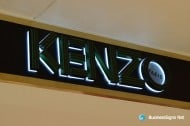 3D LED Backlit Signs With Painted Letter Shell & 10mm Thickness Acrylic Back Panel For Kenzo