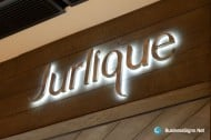 3D LED Backlit Signs With Brushed Stainless Steel Letter Shell For Jurlique