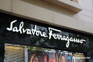 3D LED Front-lit Signs With Painted Stainless Steel Letter Shell For Salvatore Ferragamo