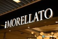 3D LED Front-lit Signs With Painted Stainless Steel Letter Shell For Steve Morellato