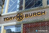 3D LED Backlit Signs With Painted Stainless Steel Letter Shell For Tory Burch